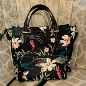Kate Spade satchel with wallet